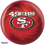 San Francisco 49ers Bowling Ball