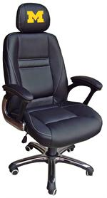 Michigan Wolverines Head Coach Office Chair