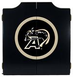 Army Black Knights Black Dart Board Cabinet