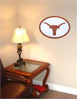 Texas Longhorns 31-Inch Carved Wall Art