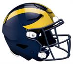 Michigan Wolverines 24 Inch Authentic Wall Helmet