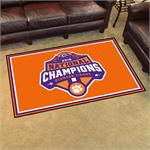 Clemson Tigers 2018 College Football Champions 5'x8' Plush Rug