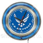 United States Air Force 15 Inch Neon Clock