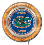Florida Gators 15 Inch Neon Clock