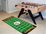 Pittsburgh Steelers Football Field Runner Mat