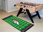 Denver Broncos Football Field Runner Mat
