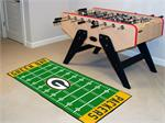 Green Bay Packers Football Field Runner Mat