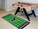 Houston Texans Football Field Runner Mat