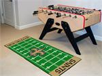New Orleans Saints Football Field Runner Mat