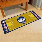 Connecticut Huskies Basketball Court Runner Mat
