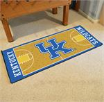 Kentucky Wildcats Basketball Court Runner Mat