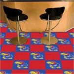 Kansas Jayhawks Carpet Tiles