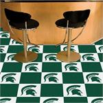 Michigan State Spartans Carpet Tiles