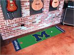 Michigan Wolverines Putting Green Mat