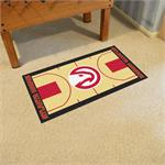 Atlanta Hawks Basketball Court Runner Mat