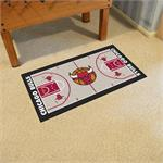 Chicago Bulls Basketball Court Runner Mat