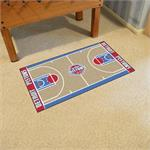 Detroit Pistons Basketball Court Runner Mat