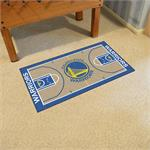 Golden State Warriors Basketball Court Runner Mat