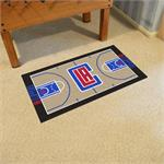 Los Angeles Clippers Basketball Court Runner Mat