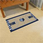 Memphis Grizzlies Basketball Court Runner Mat