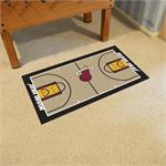 Miami Heat Basketball Court Runner Mat