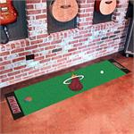 Miami Heat Putting Green Mat