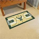 Milwaukee Bucks Basketball Court Runner Mat