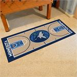 Minnesota Timberwolves Basketball Court Runner Mat