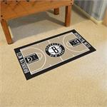 Brooklyn Nets Basketball Court Runner Mat