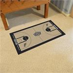 San Antonio Spurs Basketball Court Runner Mat