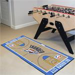Oklahoma City Thunder Basketball Court Runner Mat