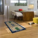 Utah Jazz Basketball Court Runner Mat