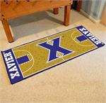 Xavier Musketeers Basketball Court Runner Mat