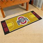 Ohio State Buckeyes Basketball Court Runner Mat