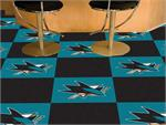 San Jose Sharks 20pc Carpet Tile Set