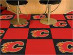 Calgary Flames 20pc Carpet Tile Set