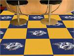 Nashville Predators 20pc Carpet Tile Set