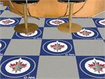 Winnipeg Jets Carpet Tiles