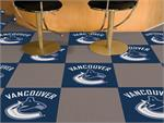 Vancouver Canucks 20pc Carpet Tile Set