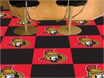 Ottawa Senators 20pc Carpet Tile Set