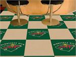 Minnesota Wild 20pc Carpet Tile Set