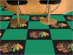 Chicago Blackhawks 20pc Carpet Tile Set