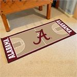Alabama Crimson Tide Basketball Court Runner Mat