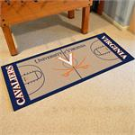 Virginia Cavaliers Basketball Court Runner Mat