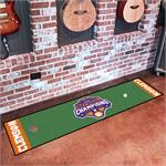 Clemson Tigers 2018 College Football Champions Putting Green Runner Mat