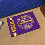LSU Tigers 2019 College Football National Champions Starter Mat