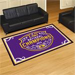 LSU Tigers 2019 College Football National Champions 5'x8' Plush Rug