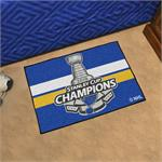 St. Louis Blues 2019 Stanley Cup Champions Starter Mat