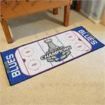 St. Louis Blues 2019 Stanley Cup Champions Rink Runner Mat