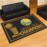 Golden State Warriors 2018 NBA Champions 5' x 8' Area Rug